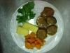 FIletto con carote al vapore